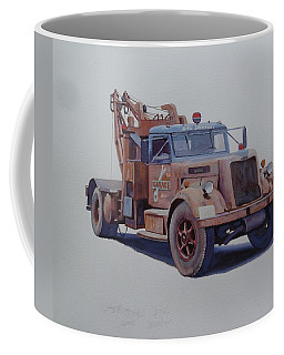 Corbyn Wrecker. Coffee Mug by Mike  Jeffries