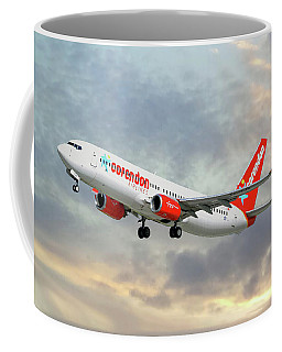 Corendon Airlines Boeing 737-81b Coffee Mug