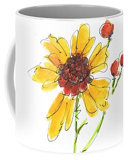 Coreopsis By Kathleen Mcelwaine Coffee Mug