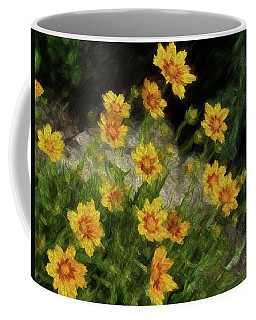Coreopsis Tickseed Coffee Mug