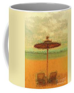 Coffee Mug featuring the photograph Corfu 18 - Mirage by Leigh Kemp