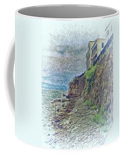 Coffee Mug featuring the photograph Corfu 33 - Corfu Rocks by Leigh Kemp