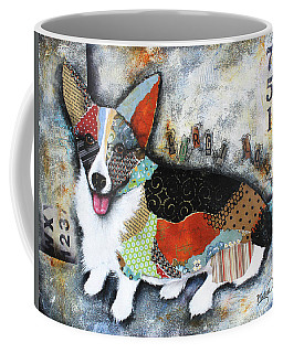 Corgi 2 Coffee Mug by Patricia Lintner