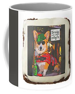 Coffee Mug featuring the photograph Corgi Brownie by Kathy Kelly