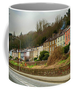 Coffee Mug featuring the photograph Cork Row Houses by Marie Leslie