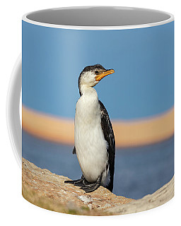 Coffee Mug featuring the photograph Cormorant by Chris Cousins