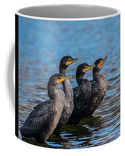Cormorant Row Coffee Mug by Jeff at JSJ Photography