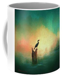 Cormorat Sunset Coffee Mug