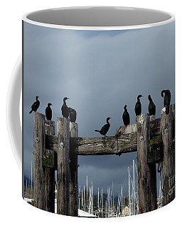 Cormorants Coffee Mug