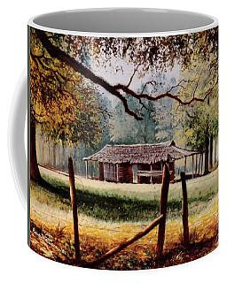 Corn Crib Coffee Mug