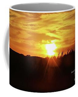 Corn Field Sunset Coffee Mug