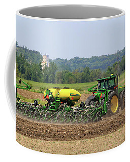 Corn Planting Fremont County Iowa Coffee Mug