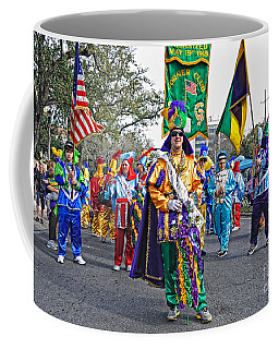 Corner Club 3 -mardi Gras New Orleans Coffee Mug