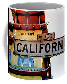 Corner Of California- Art By Linda Woods Coffee Mug