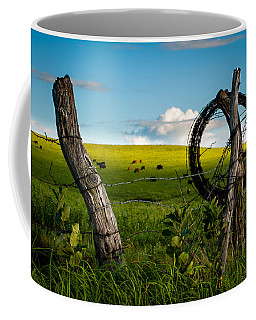 Corner Post Coffee Mug