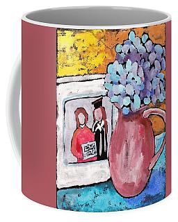 Corner Table Coffee Mug by Ruth Kamenev