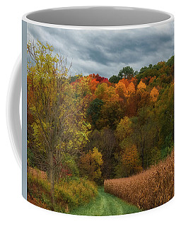 Cornfield In Fall  Coffee Mug