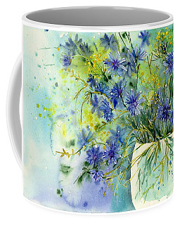 Cornflowers Symphony Coffee Mug