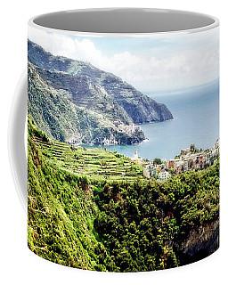 Coffee Mug featuring the photograph Corniglia by Scott Kemper