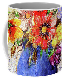 Cornucopia-still Life Painting By V.kelly Coffee Mug