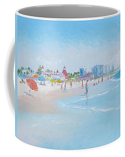 Coronado Beach San Diego Coffee Mug by Jan Matson