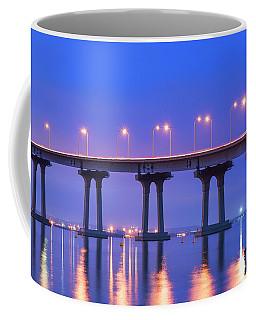 Coronado Bridge Nights Coffee Mug