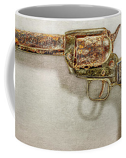 Corroded Peacemaker Coffee Mug by YoPedro