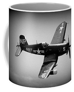 Corsair Flight Coffee Mug by Kevin Fortier