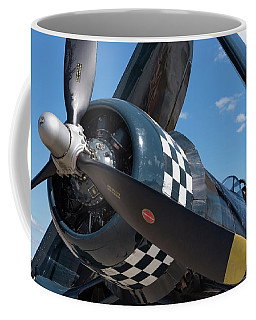 Corsair On The Ramp - 2017 Christopher Buff, Www.aviationbuff.com Coffee Mug