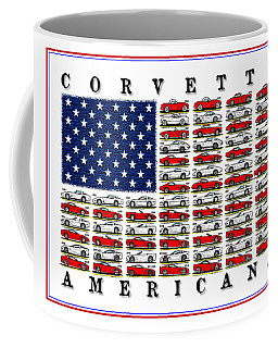 Corvette Americana Coffee Mug