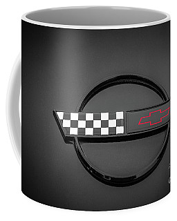 Corvette C4 Hood Ornament Coffee Mug