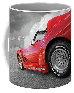 Corvette Daytona Coffee Mug by Gill Billington
