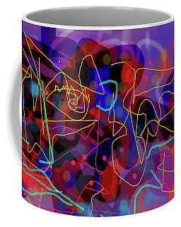 Cosmic Beast Coffee Mug by Maxim Komissarchik