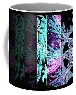Cosmic Collage Mosaic Left Side Coffee Mug