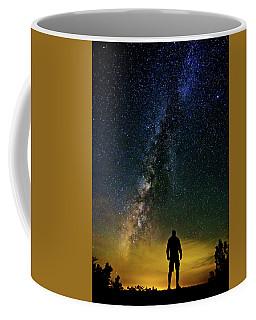Cosmic Contemplation Coffee Mug