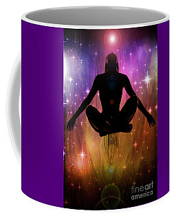 Coffee Mug featuring the photograph Cosmic Enlightenment... by Nina Stavlund