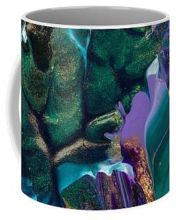 Cosmic Feathered Webbed Universe Coffee Mug