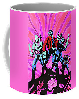 Cosmic Guardians Of The Galaxy 2 Coffee Mug