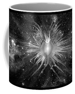 Cosmic Heart Of The Universe Bw Coffee Mug