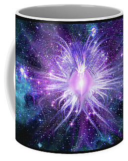 Cosmic Heart Of The Universe Mosaic Coffee Mug by Shawn Dall