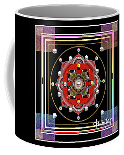 Cosmic Lotus Mandala Coffee Mug