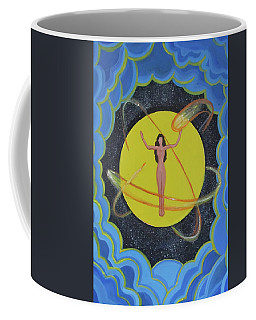 Cosmic  Coffee Mug by Melinda Saminski