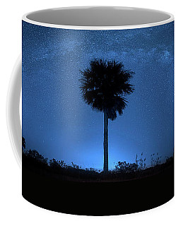 Coffee Mug featuring the photograph Cosmic Night by Mark Andrew Thomas