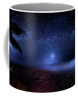 Coffee Mug featuring the photograph Cosmic Ocean by Mark Andrew Thomas