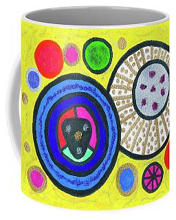 Cosmic Orbs Coffee Mug by Susan Schanerman