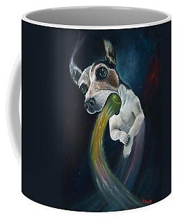Cosmojo Coffee Mug by Claudia Goodell