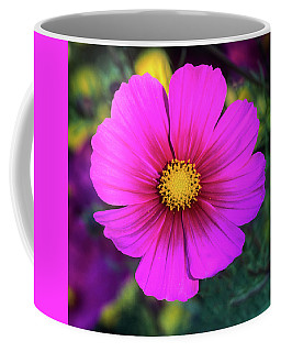 Coffee Mug featuring the photograph Cosmos by John Brink