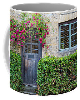 Coffee Mug featuring the photograph Cotswolds Cottage Home by Brian Jannsen