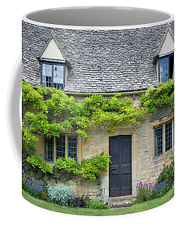 Coffee Mug featuring the photograph Cotswolds Cottage Home II by Brian Jannsen