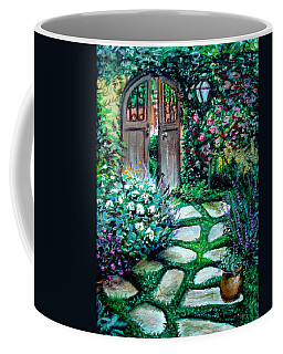 Cottage Gates Coffee Mug